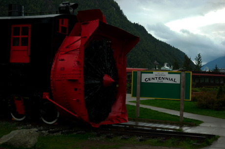 All, Skagway City - Train Snow plow, Train, Skagway, Alaska, USA